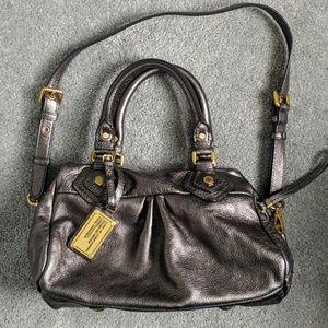 Marc Jacobs metallic satchel